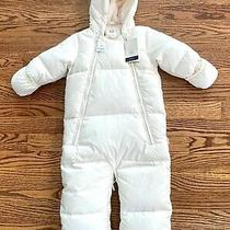 Baby Gap Coldcontrol Ultra Max Down Filled Snowsuit 6-12 Months Ivory Photo