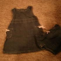 Baby Gap Denim Dress Photo