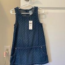 Baby Gap Denim Overall Dress - Nwt Size 3t Photo