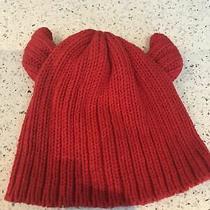 Baby Gap Devil Hat Red New Photo