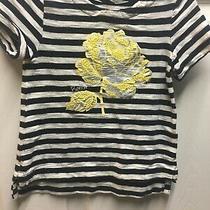 Baby Gap Disney Toddler Girls Belle Yellow Rose T-Shirt Size 2t Photo