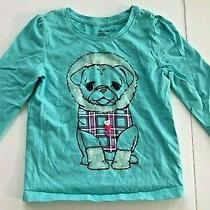 Baby Gap Dog Graphic Print Button Embellished Toddler Size 3 Years Photo