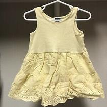 Baby Gap Dress Yellow Sz 18-24 Months Euc Photo