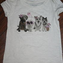 Baby Gap Fancy Dogs Short Sleeve Top Size 12-18 Months Nwt Photo