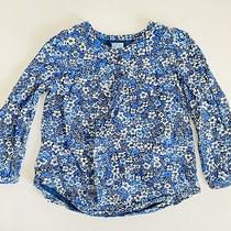 Baby Gap Floral Peasant Top Size 4 Photo