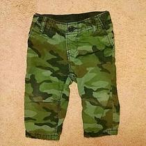 Baby Gap Fully Lined Green Camo Pants Size 6-12 Months Photo