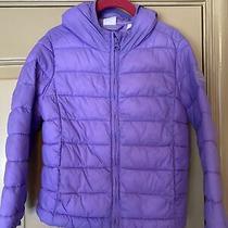 Baby Gap/ Gap Kids Purple Zip-Up Puffer Jacket Xs (4-6t) Photo