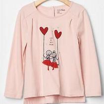 Baby Gap Girl Embellished Graphic Tee Shirt Nwt 2t N6 Photo