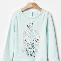 Baby Gap Girl Embroidered Graphic Tee Shirt Nwt 4t M650 Photo