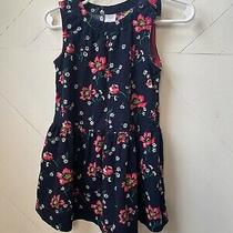 Baby Gap Girl's Black and Pink Courdoroy Dress Photo