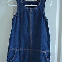 Baby Gap Girl's Blue Jean Dress Size 4 Years Photo