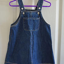 Baby Gap Girl's Blue Jean Dress Size 4 Yrs. Photo