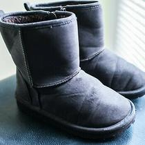 Baby Gap Girl's Brown Zipper Boots Size 11 Photo