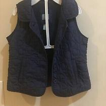 Baby Gap Girl Vest Navy Blue Size 18-24 Months Photo