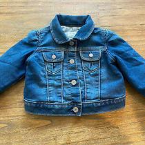 Baby Gap Girls 6-12 Months Denim Jean Jacket Lined. Photo