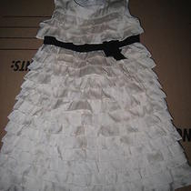 Baby Gap Girls Admirals Club Tiered Party Dress Size 3 3t Photo