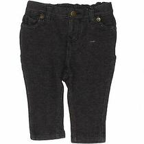 Baby Gap Girls Black Jeggings 3-6 Months Photo