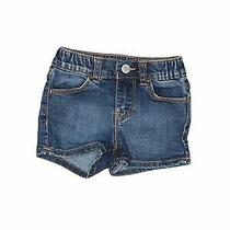 Baby Gap Girls Blue Denim Shorts 18-24 Months Photo