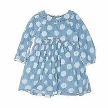 Baby Gap Girls Blue Dress 3t Photo