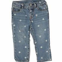Baby Gap Girls Blue Jeans 18-24 Months Photo