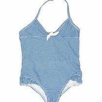 Baby Gap Girls Blue One Piece Swimsuit 4 Photo
