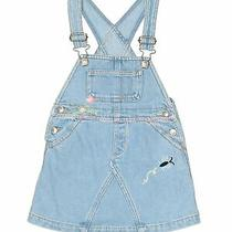 Baby Gap Girls Blue Overall Dress 18-24 Months Photo