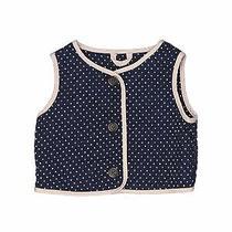Baby Gap Girls Blue Vest 18-24 Months Photo