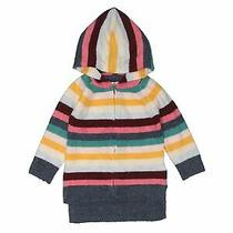 Baby Gap Girls Brown Zip Up Hoodie 18-24 Months Photo