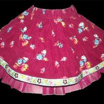 Baby Gap Girls Corduroy and Tulle Tiered Prairie Skirt New W Tag Size 3-6 Months Photo