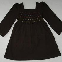 Baby Gap Girls Dress 18 24 Months Brown Smocked Toddler Nwt Photo