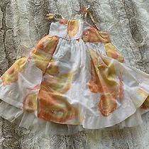 Baby Gap Girls Dress 6-12 Butterfly Theme Dress Photo
