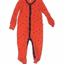 Baby Gap Girls Orange Long Sleeve Outfit 6-9 Months Photo