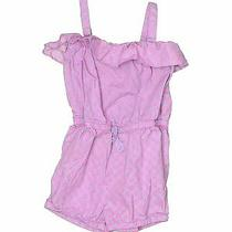 Baby Gap Girls Purple Romper 3t Photo