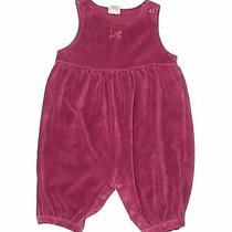 Baby Gap Girls Purple Short Sleeve Outfit 3-6 Months Photo