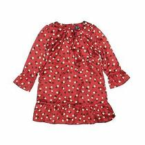 Baby Gap Girls Red Dress 4 Photo