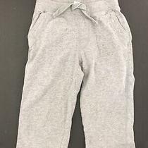Baby Gap Girls Size 2t Gray Sweatpant Lounge Athletic Jogging Pj Pant Elastic Photo
