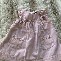 Baby Gap Girls Size 3-6 Months Sleeveless Dress Pink Summer Photo