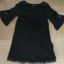 Baby Gap Girls Size 3 Black Gold Dress Tulle Photo