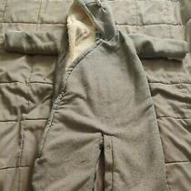 Baby Gap Girls  Snow Suit Size 3-6 Months Blue Bunting Zip Up Coldcontrol Photo