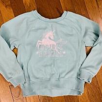 Baby Gap Girls Sweatshirt 5t Unicorn Photo