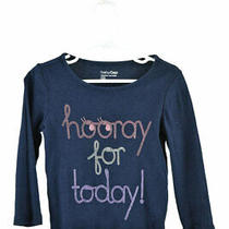 Baby Gap Girls Tops T - Shirts 3t Blue Cotton Photo