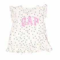 Baby Gap Girls White Short Sleeve T-Shirt 5 Photo