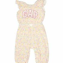 Baby Gap Girls Yellow Short Sleeve Outfit 6-12 Months Photo