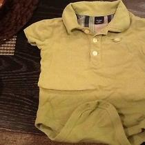 Baby Gap Gray Baby Boy Romper/jumpsuit Shirt 18-24m Photo