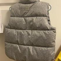 Baby Gap Gray Puffer Warmest Vest - Nwt Size 2 Photo