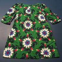 Baby Gap Green Floral Dress for Size 3 Girl C10 Photo