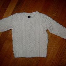 Baby Gap Holiday Cable Knit Sweater 3t Photo