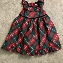 Baby Gap Holiday Dress Red and Green Photo