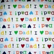 Baby Gap I Love Dad Size 4 Pajama Set Long Sleeve Unisex Boy Girl Sleepwear New Photo