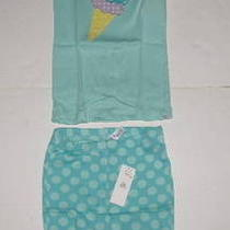 Baby Gap Ice Cream Cone Dot Short Pajamas 4t Nwts Photo